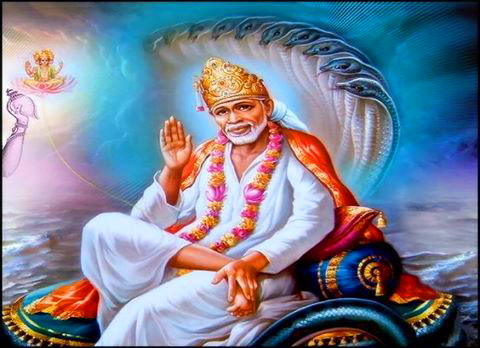 hd Sai Baba Blessing Images