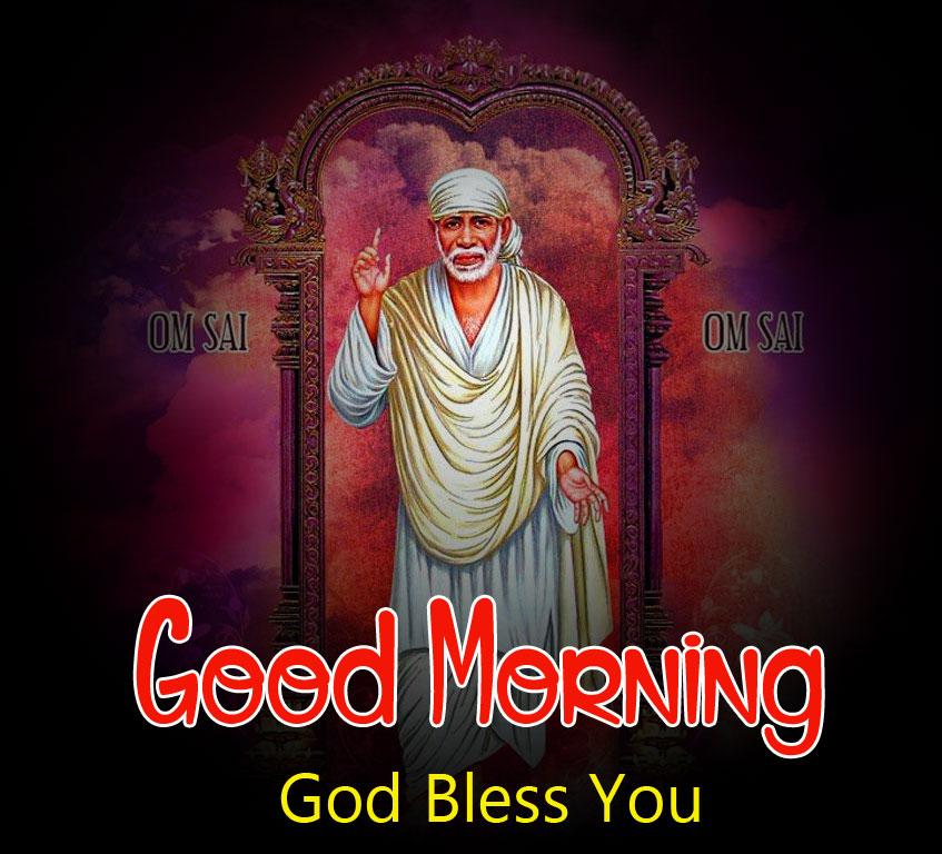 hd free Nice Sai Baba Good Morning Images
