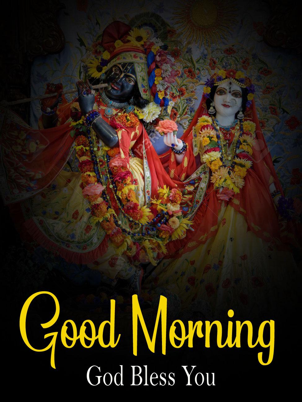hd free Radha Krishna Good Morning Images 2021