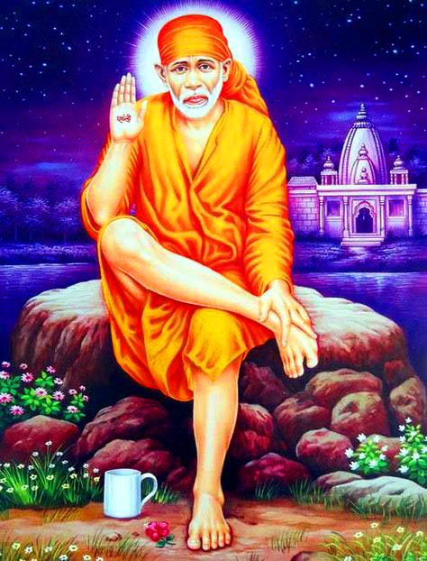 hd free Sai Baba Blessing Images