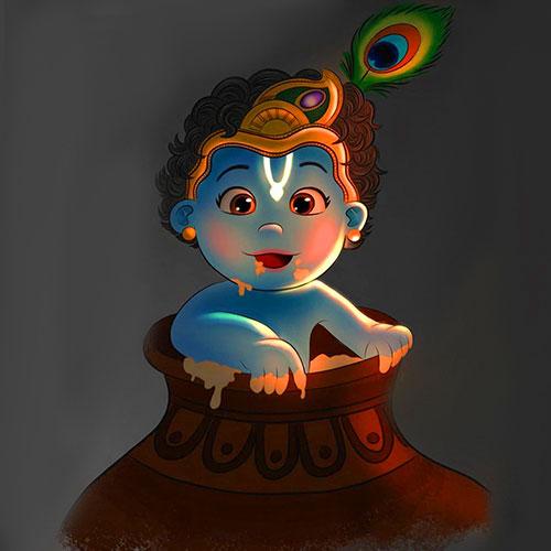 krishna Whatsapp Profile Images photo 1