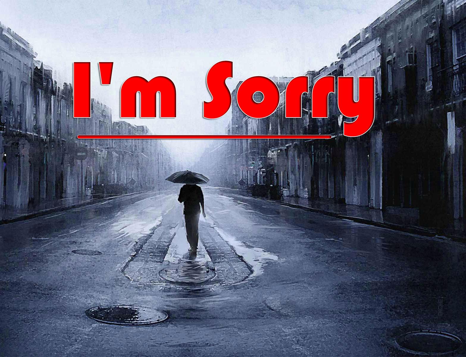 l am sorry Photo HD 2021