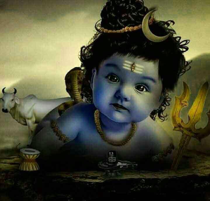 little krishna God Whatsapp Dp Images
