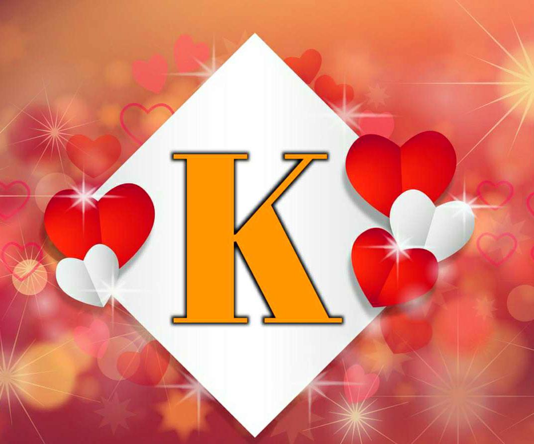love Latest Stylish K Name Dp Images