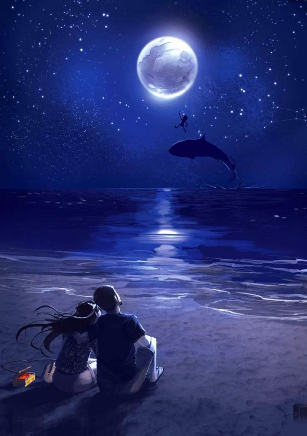 moon Girlfriend Whatsapp Profile Images