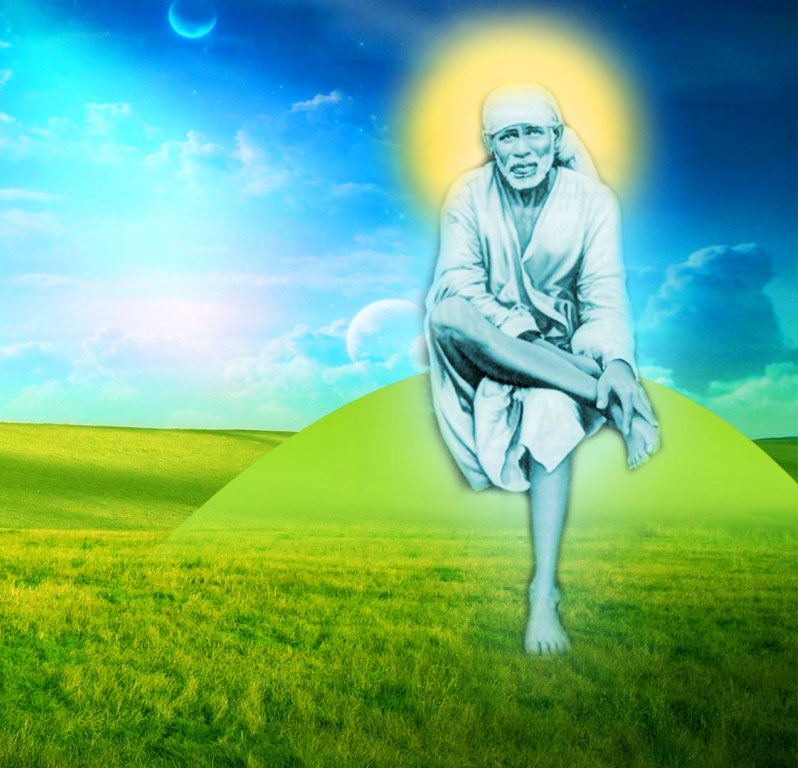 nature Sai Baba Blessing Images