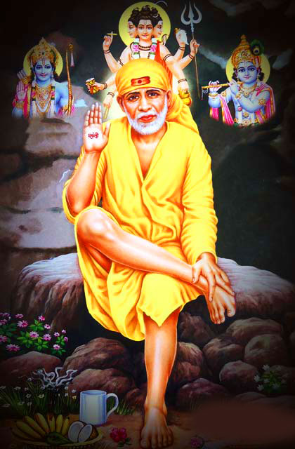 new Latest Sai Baba Blessing Images