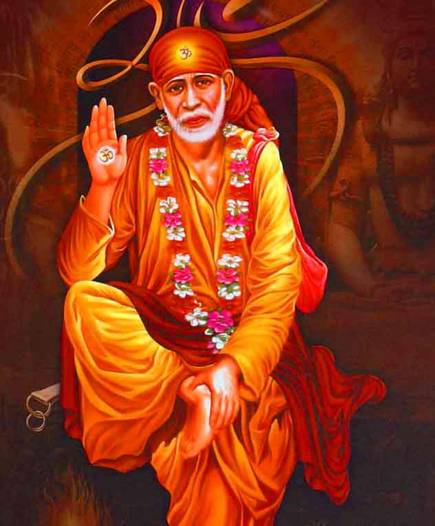 nice Beautiful Sai Baba Blessing Images