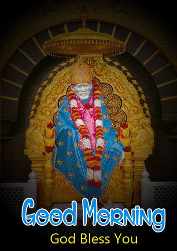 photo Nice Sai Baba Good Morning Images