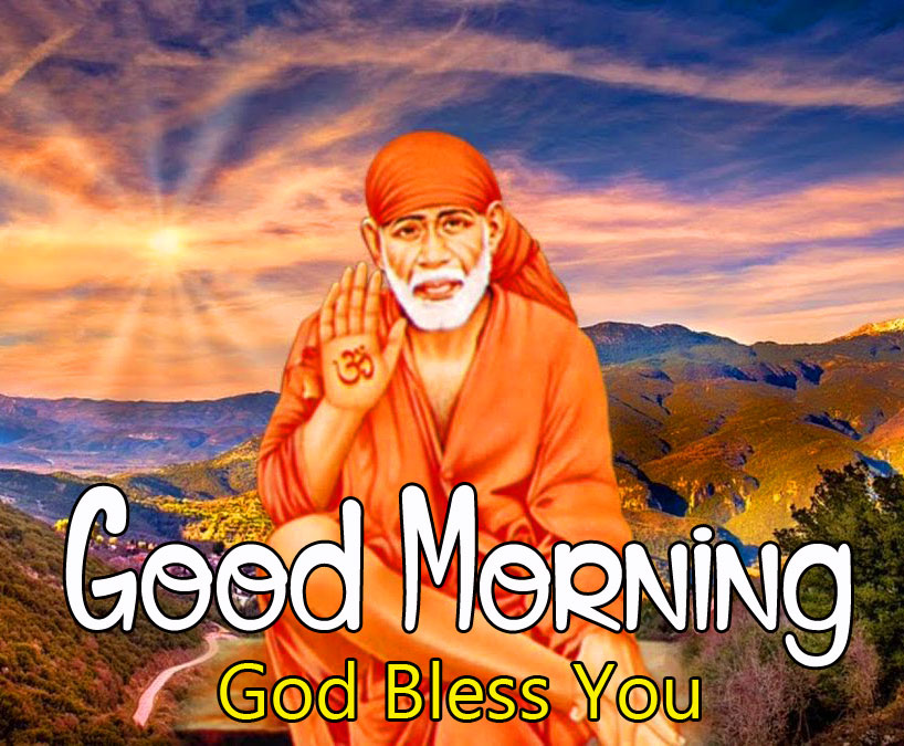 photo of Sai Baba Good Morning Images hd