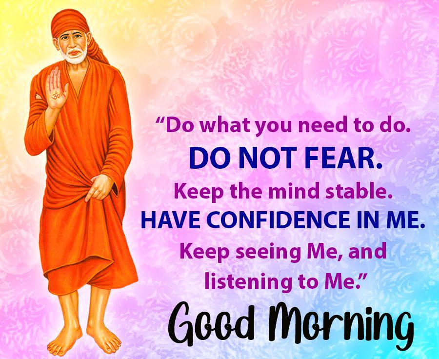 pics Nice Sai Baba Good Morning Images