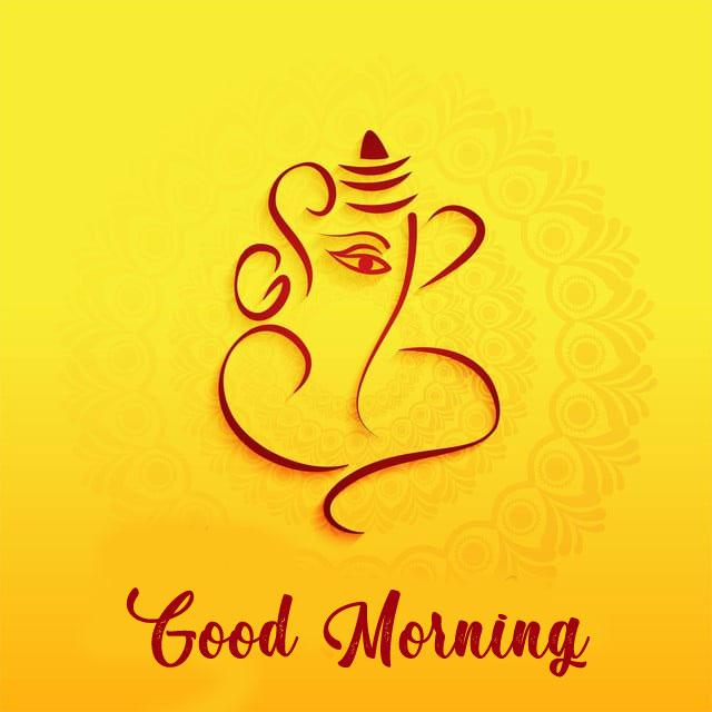 pics of New ganesha good morning images hd download