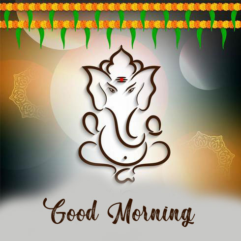 pictures of ganesha good morning images hd