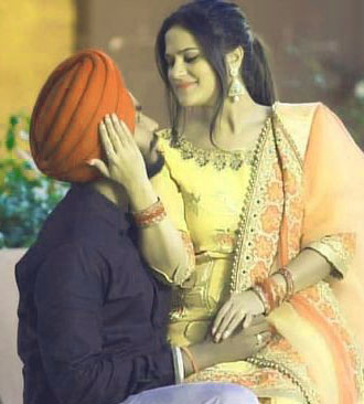 punjabi dp Whatsapp Images With Wedding Couple