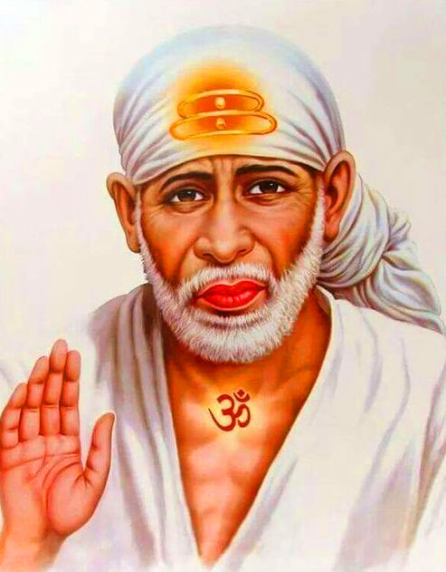 shirdi Beautiful Sai Baba Blessing Images wallpaper