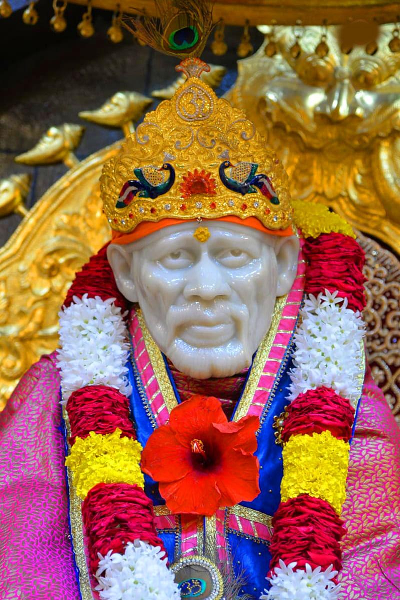 shirdi Beautiful Sai Baba Blessing Images