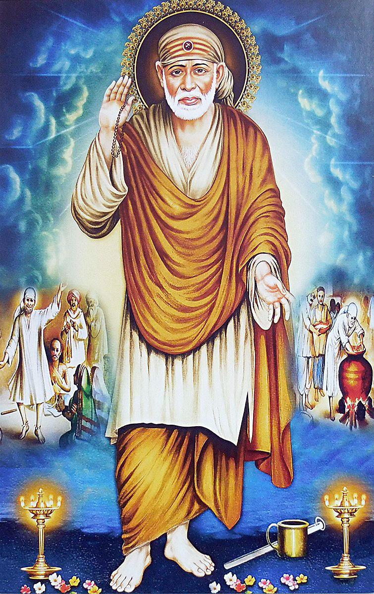 shirdi Latest Sai Baba Blessing Images photo