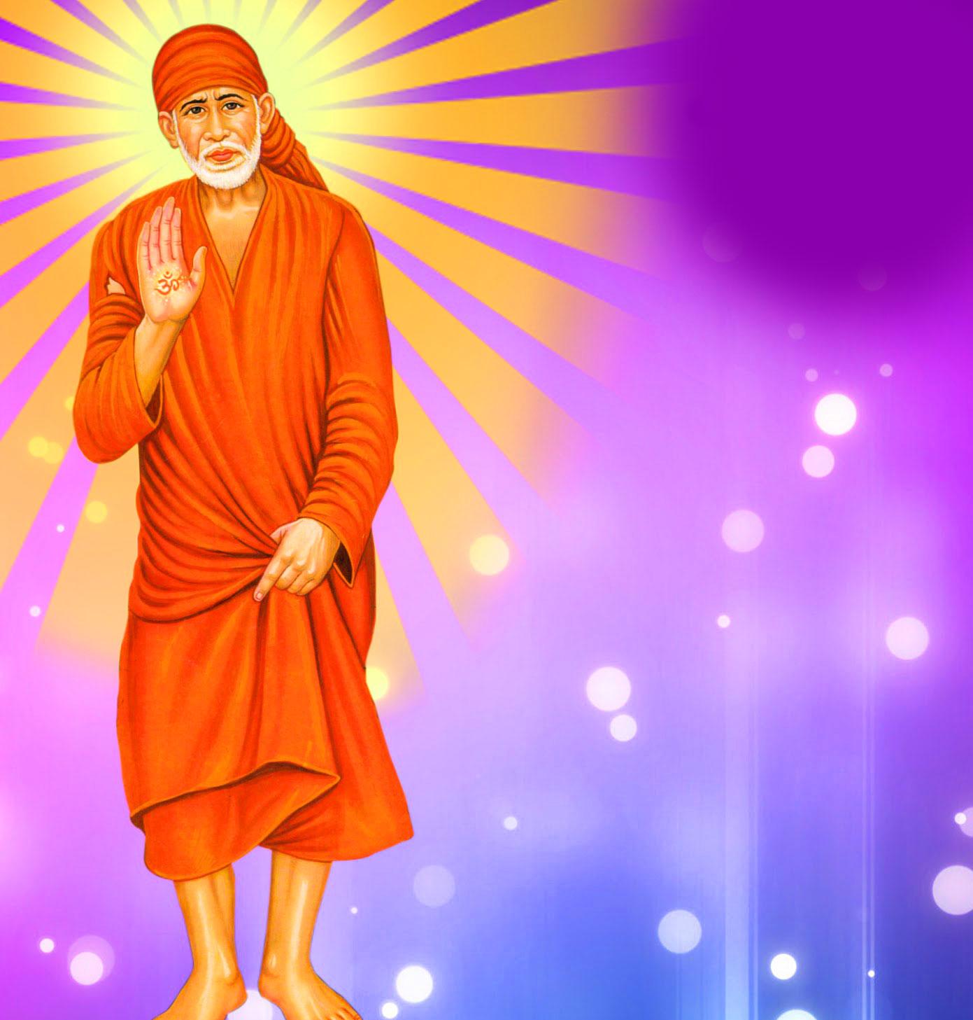 shirdi Sai Baba Blessing Images hd 2