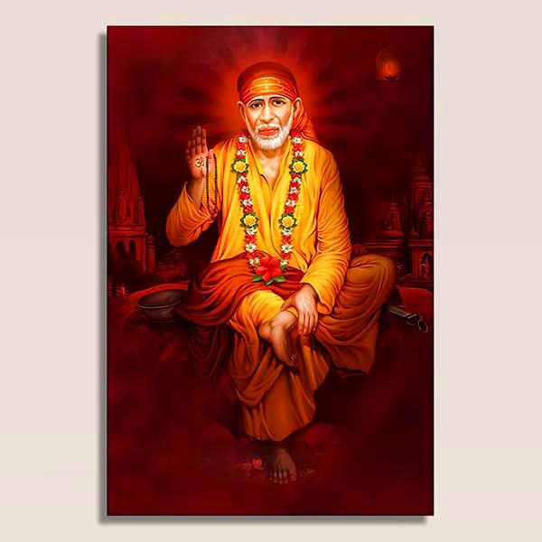 shirdi Sai Baba Blessing Images pics