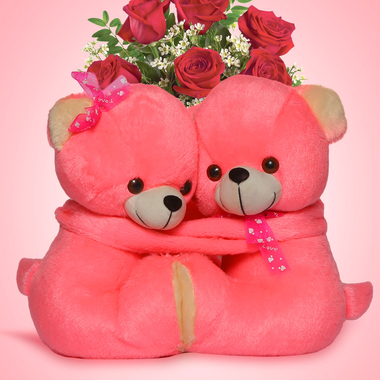 teddy couple Cute Whatsapp Dp Images